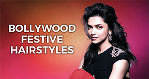 How to do Bollywood festive Hairstyle