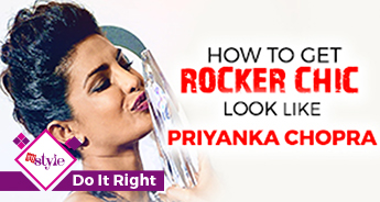 How to get a rock chic look like Priyanka Chopra