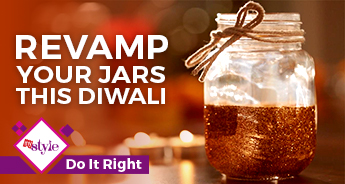 DIY Mason jar crafts for this Diwali